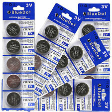 Lot 25PCS CR-2450 Lithium Battery NEW 3V Cell Button Coin for Watch US SELLER
