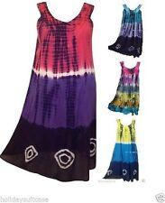 Plus Viscose Summer/Beach Sundresses for Women