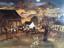 """Will Moses - """"Moon Dance"""" Lithograph Signed and Numbered!!"""