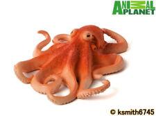 Mojo Animal Planet ORANGE OCTOPUS solid plastic toy wild sea marine * NEW