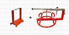 WBYC Auswucht + Reifenmontiergerät Set Wuchtbock Motorrad Reifen Montage Neu