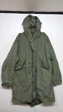 RARE Korean War Vintage US Army USMC M-51 Shell Parka Fishtail Military Uniform