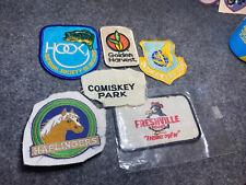 Vintage Patch Lot 6 patches Horse ,automotive,Advertisement,Sports,Military Rare