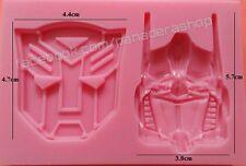 Transformers Fondant Gum paste Silicone Chocolate Clay Molder Jelly Silicon Mold