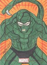 Marvel 75th Anniversary SketchaFEX Sketch Card Scorpion By Marco David Carrillo