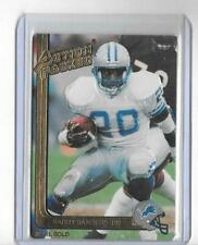BARRY SANDERS 1991 ACTION PACKED 24KT GOLD CARDS -LIONS!!
