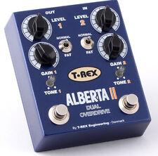 T-rex Alberta ii dual Overdrive efecto pedal