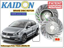 "Volkswagen Polo / Vento brake disc rotor KAIDON (Rear) type ""BS"" / ""RS"" spec"