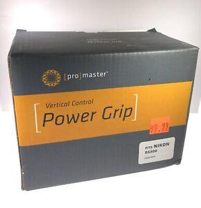 Promaster 7071 Battery Grip Vertical Control Power Grip for Nikon D5300