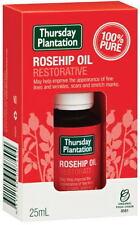 Thursday Plantation Certified Organic Rosehip Oil 25ml Nourish Moisturise Scars