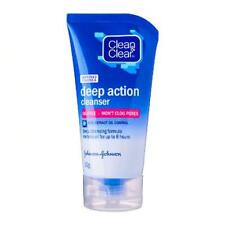 Clean and Clear Deep Action Rice Extract Oil Control Facial Cleanser Foam 50g.