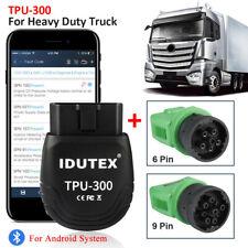 Heavy Duty Diesel Truck Diagnostic Scanner Tool Obd2 Hd Code Reader Tpu300