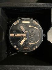 100% Genuine Mens Diesel DZ7350 Mega Chief Watch BNWT & Box RRP £349