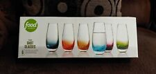 Food Network. Multicolored Shot Glasses.  Sets of 6. Brand New in box
