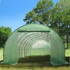 Green Garden Hot House Greenhouse 26' x 10' Round (B2) - Total Weight 119 lbs