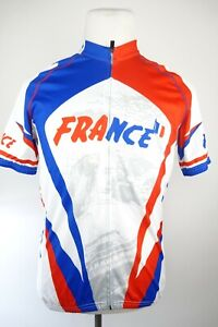 Specialized France Cycling Jersey Men Size Large