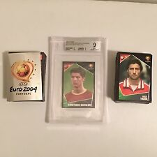 Panini UEFA Euro 2004 Complete 334 Sticker Set + BGS 9 CRISTIANO RONALDO Low POP