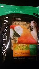 44 oz bag Roudybush MEDIUM Maintenance Pellets Bird Food Amazon Cockatoo Macaw