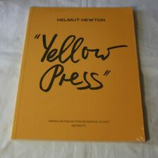 Helmut Newton     Yellow Press