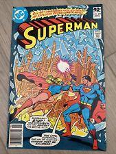 DC Superman #338 AUG 40th anniversary Spectacular