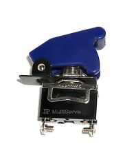 1 SPST On/Off Full Size Toggle Switch with BLUE Safety Cover