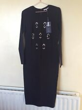 BNWT M&S Ladies Women Limited Collection  Black Dress Size12 RRP