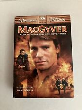 MacGyver - The Complete First 1st Season One 1 (6 Dvd set, 2005) Complete