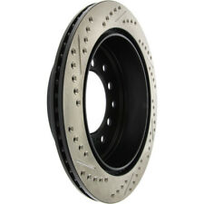 Disc Brake Rotor-Sport Drilled/Slotted Disc Rear Left Stoptech 127.44175L