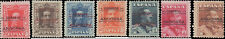 1928 Andorra, Spanish Administration #6-12, Incomplete Set(7), Hinged