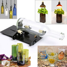 Beer Glass Wine Bottle Cutter Cutting Machine Jar DIY Kit Craft Recycle Tool US