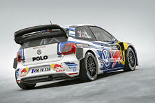 2015 VOLKSWAGEN POLO WRC RALLY RACE CAR POSTER PRINT 24x36
