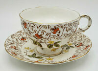 Royal Adderley Lawley Bone China Tea Cup & Saucer England Teacup Vintage