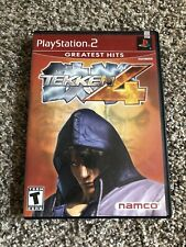 Tekken 4  (Sony PlayStation 2, ) PS2 Complete with  Manual CIB