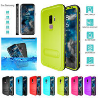 Stand 360° Sealed Cover Waterproof Case For Samsung Galaxy Note 8 9 /S8 S9 Plus