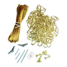 Jandorf Swag Kit Polished Brass 20 and 15 ft. L 1 pk
