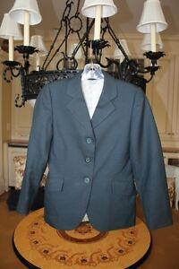 Hadfield's Grand Prix Deep Green Show Jacket - girl's size 10R -barely worn