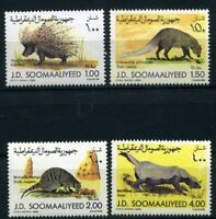Somalia MiNr. 358-61 postfrisch MNH Wildtiere (W2051