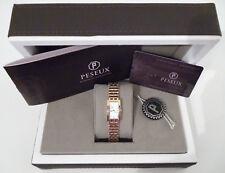Peseux by Constantin Weisz Exklusive Luxus Brillanten Damenuhr  Neu  UVP: 1495 €