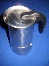 CAFFETTIERA ESPRESSO IN PURO ACCIAIO - MARCA G.B. ITALIA - CAPACITA' 6 TAZZE