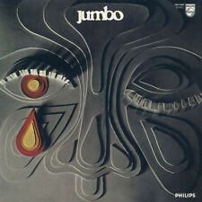 JUMBO Jumbo (Ltd. ed. silver & black mixed colour) LP Italian Prog