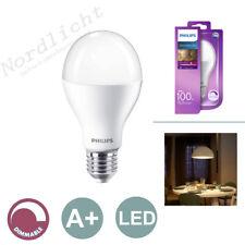 Leuchtmittel Philips E27 LED 16W = 100W warmweiß dimmbar Glühbirne Lampe Leuchte