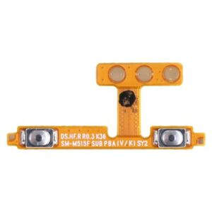 Volume Strip Button Flex Cable Replacement Part For Samsung Galaxy M22 A12 M31S