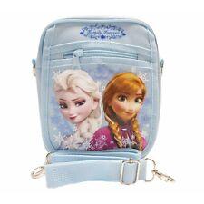 Large Disney Frozen Elsa Anna Light Blue Shoulder Purse Bag/Messenger Bag-New