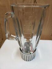 Braun KM32 Mixer Glass Blender Base Pitcher Attachment Original Genuine Part