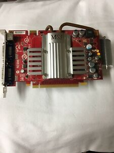 MSI NVIDIA GeForce 8600 GT (NX8600GTT2D256EZ) 256MB GDDR3 SDRAM PCI Express x16