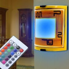 LED Cristal Lámpara de Techo RGB CONTROL REMOTO cambio de color Salón espacio