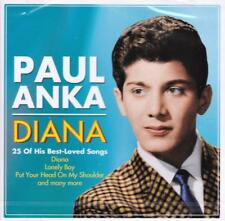 PAUL ANKA - DIANA - 25 OF HIS BEST-LOVED SONGS (NEW SEALED CD)