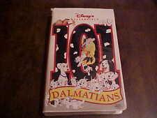 Disney's 101 DALMATIANS (VHS,Clamshell Cover)