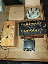 Antique Central Scientific Co Resistance Resistor Box Circa Early 1900's L2