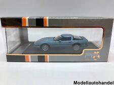 Chevrolet Corvette (c4) metallic-bleu clair 1984 - 1:43 IXO premium X Nouveau!